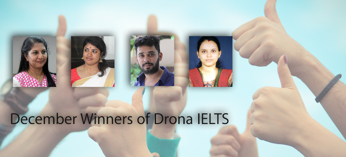 IELTS Winners of December Last Two Weeks